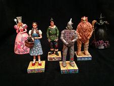 Jim Shore Wizard of Oz 6-piece Mini Figurine Set-- Dorothy, Glinda, Wicked Witch
