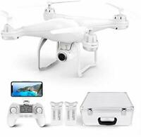 Potensic GPS Drone, FPV RC Drone with 1080P HD Camera, Adjustable Wide Angle