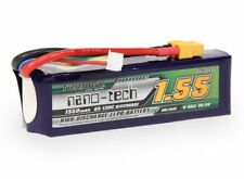 RC Turnigy nano-tech 1550mah 6S 65~130C Lipo Pack (450L Heli)
