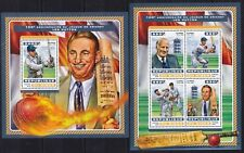Niger 2016 Len Hutton / Cricket game / Sports on postage stamps MNH** ZX