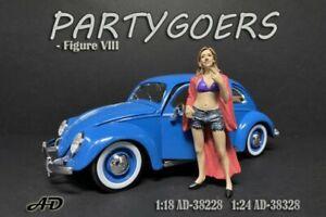 PARTYGOERS FIGURE VIII AMERICAN DIORAMA 38328 1/24 scale Accessory