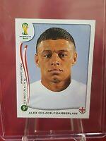 Alex Oxlade-Chamberlain England 2014 World Cup Panini Sticker