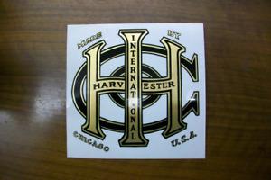 Gas Engine -IHC Logo (Tom Thumb) Mylar Decal