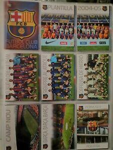 2004 PANINI MEGACRACKS SET  139 CARDS (NO MESSI)