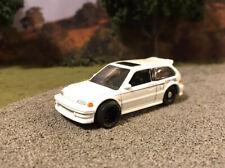Honda Civic Drag Race Car Hot Wheels Custom 1/64 Diecast