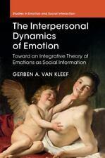 THE INTERPERSONAL DYNAMICS OF EMOTION - VAN KLEEF, GERBEN A. - NEW HARDCOVER BOO