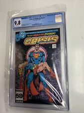 Crisis on Infinite Earths #7 CGC 9.8 White pages! Death Of Supergirl
