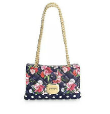 $55 ALDO MENIFEE Floral Print Light Blue  Shoulder bag Purse Crossbody NWT