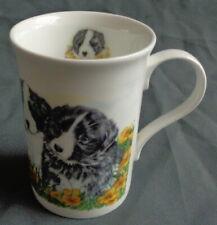 CROWN TRENT ENGLAND PUPPIES mok H10xO7cm 20cl kop beker mug Tasse Becher Taza