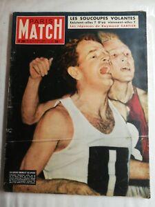 N1494 Magazine Paris-Match N°291 23 au 30 oct 1954 anglais chataway, bir-hakeim