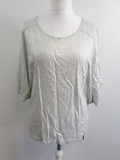Twisted muse winnie Silver Grey Batwing Top Ladies Size Small Box12 13 B