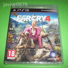 FAR CRY 4 NUEVO Y PRECINTADO PAL ESPAÑA PLAYSTATION 3 PS3 FARCRY 4