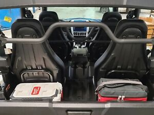 Yamaha Rmax 4 and Wolverine X4 Milwaukee pack out cleat Behind seats