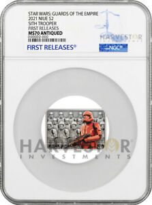 2021 STAR WARS - GUARDS OF THE EMPIRE - SITH TROOPER - NGC MS70 FIRST RELEASES