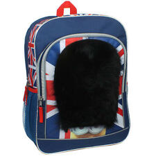 New Despicable Me Minions British Flag Royal Guard Backpack School Book Bag NWT
