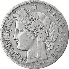 [#854573] Monnaie, France, Cérès, 2 Francs, 1888, Paris, TB, Argent