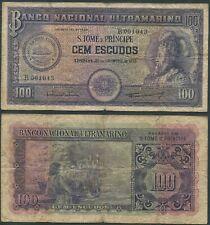 St. Thomas and Prince (Sao Tome e Principe) 100 Escudos 1958 Low S/N circ.