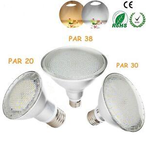 Dimmable 110V LED Spotlight Bulb E27 PAR20 PAR30 PAR38 14W 24W 30W White Lamp