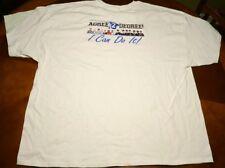 Brand New Johnston Community College T-Shirt Size XXXL White Blue JCC Degree 3XL