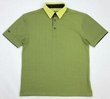 G-MAC Graeme McDowell Golf Polo Volt Black Hidden Button Down Sz Small