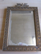 ANTIQUES MIRROR EMPIRE STYLE WITH EAGLE