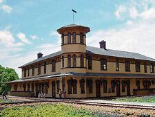 CANAAN UNION STATION HO Model Railroad Structure Unpainted Laser Wood Kit LA659