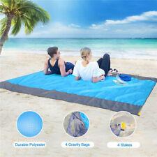 210*200cm Sand Free Beach Mat Outdoor Picnic Blanket Rug Sandless Mattress Pad