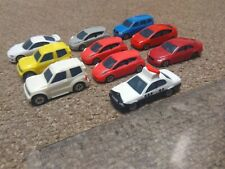 LOT - 10 Tomica Taito plastic models half scale HO - Leaf, Probox, Prius, etc