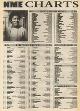 NME CHARTS FOR 30/3/1985 PHIL COLLINS/PHILLIP BAILEY: EASY LOVER WAS NO.1
