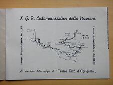 1959-X GRAN PREMIO CICLOMOTORISTICO DELLE NAZIONI-AGRIGENTO-MOTOCICLISMO