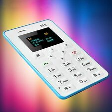 GSM 4.5mm Ultra Thin Pocket Mini Phone AIEK M5 Card Cellphone Low Radiation