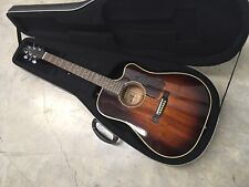 Alvarez Acoustic-electric Guitar Thin Body Model 5082 Made In Korea 1986 / Case