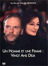 A Man And A Woman 20 Years On (1986) twenty (un homme et une femme) Region 2 DVD