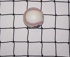 "20' x 5'  BASEBALL NETTING HARD IMPACT BASEBALL SOFTBALL NET  2"" #36 TEST 350 LB"