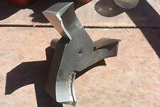 """Custom carbide 5"""", five inch, 3 wing cutter"""