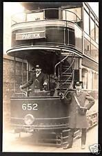 More details for partick nr broomhill & govan glasgow. tram car 652.