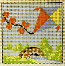 Flying Kite - easy-to-do beginners tapestry canvas