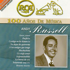 ANDY RUSSELL 100 años de musica MEXICAN 2 CDs RCA BMG 2001  Out of Print  RaRe !