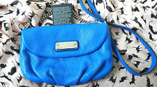 MARC by MARC JACOBS Q Karlie Crossbody Neptune Blue Leather Purse Bag RRP$258 ❤️