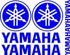 4 x YAMAHA Motorrad Aufkleber für Helm  + 2 Gratis Aufkleber moto sticker decal
