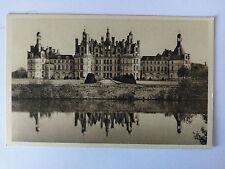 Chambord France B&W Postcard c1938 Le Chateau