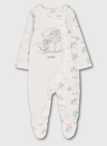 Beatrix Potter Peter Rabbit Baby Girls Sleepsuit Babygrow 0-3 Months BNWT
