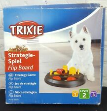 Trixie Pet Flip Board Strategy Game Dog Toy, Level 2 For All Ages Dog Training