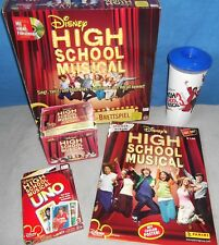 High School Musical DVD Spiel Uno Panini Sticker Becher Karton Box Album leer 3