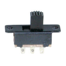 Sub-miniature DPDT Panel Mount Switch- Slide style