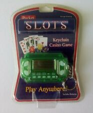 Westminster Pocket Slots Keychain Hand Held Electronic Casino Game - New