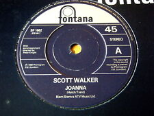 """SCOTT WALKER - JOANNA  7"""" VINYL"""