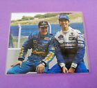 Bild laminiert Michael Schumacher Benetton Ford, Formel 1 Weltmeister 1994