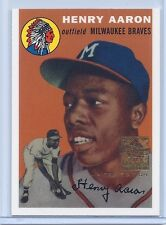 2000 Topps Limited Edition Hank Aaron 1954 Reprint