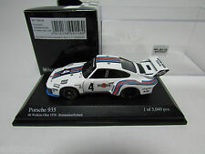 MINICHAMPS 1/64 PORSCHE 935 #4 MARTINI 1976 , WITH TRACK NUMBER